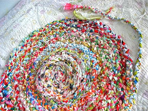 Olivia's rag rug
