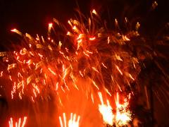 Red Dancing Lights (EpicFireworks) Tags: fireworks firework bonfire burst pyro 13g epic fuse pyrotechnics ignition sib