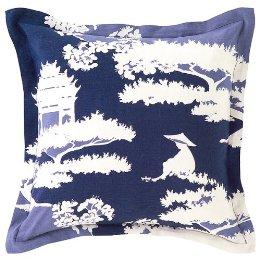 pagoda pillow target ultramarine blue