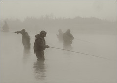 GAME ON! (ESOX LUCIUS) Tags: holland fog taco flyfishing fivestarsgallery woudrichem nkvliegvissen2009