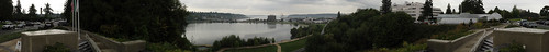 Capitol Lake Panorama from Law Enforcement Memorial