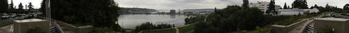 Capitol Lake Panorama from Law Enforcement Memorial