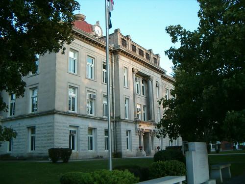 Monroe County Courthouse Paris Missouri - a photo on Flickriver