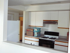 Apartment kitchen (Ginny Winblad) Tags: ucsantacruz dorms collegeeight