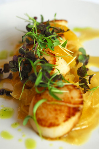 Pan-fried scallops - DSC_1410