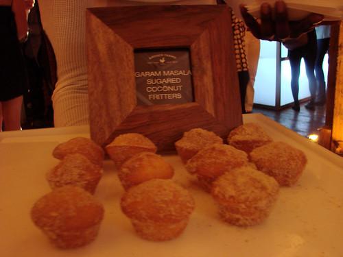 Garam Masala Coconut Fritters