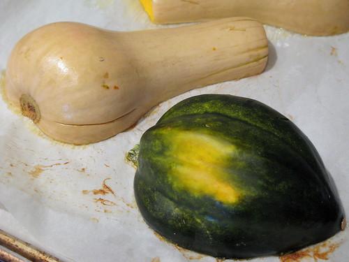 Butternut and Acorn Squash