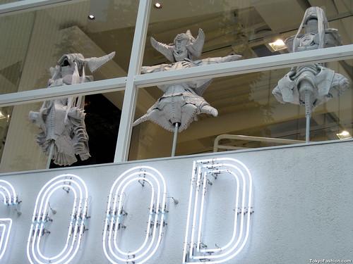 Nike Sneaker Art at Sounds Good in Tokyo