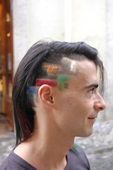 haircut tetris (wip-hairport) Tags: red haircut green yellow design with lisbon tetris haircolor wiphairport
