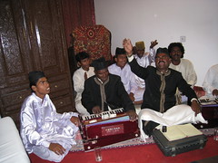 Qawwali concert in our hotel room - Udaipur