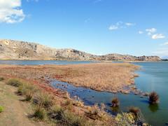 Prokopiou lagoon shore, West Achaia