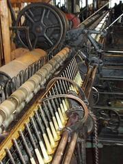 Mules in Dangerfield Mill Hawick (trubbleatmill) Tags: mill scotland textile mules woollen hawick