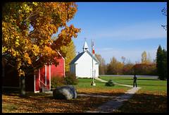 Goin' to the chapel... (bonnie5378) Tags: autumn ontario fall chapel longsault blueribbonwinner golddragon platinumphoto lostvillages betterthangood dragongoldaward cherryonthop