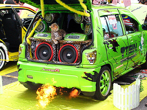 kancil turbo mod