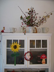 The kitchen cupboard (*hoppetosse*) Tags: autumn mushroom kitchen sunflower jennifermurphy