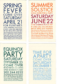saturate party fliers