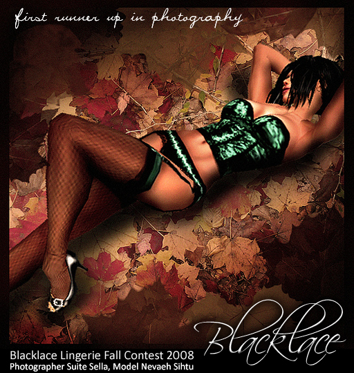Blacklace Fall 2008 First Runner-Up Photo Winner
