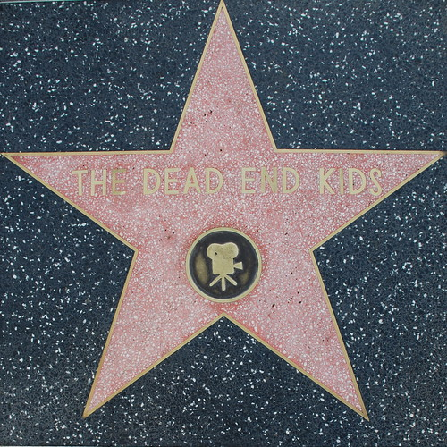 The Dead End Kids' Walk of Fame Star