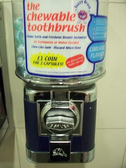 Chewable Toothbrush for One Pound