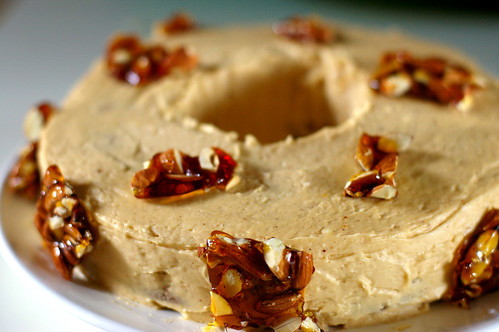 hazelnut ring tea cake