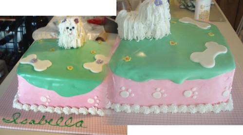 birthday cakes for girls 2nd birthday. Isabella#39;s puppy irthday cake