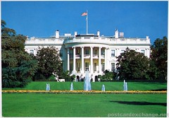 Postcard - The White House in Washington D.C.