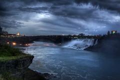 Niagara Falls (bryanscott) Tags: ontario night niagarafalls evening cloudy niagara falls hdr photomatix
