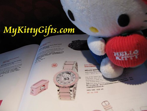 Hello Kitty Boutique Watch for Sale in Cathay Pacific Airlines