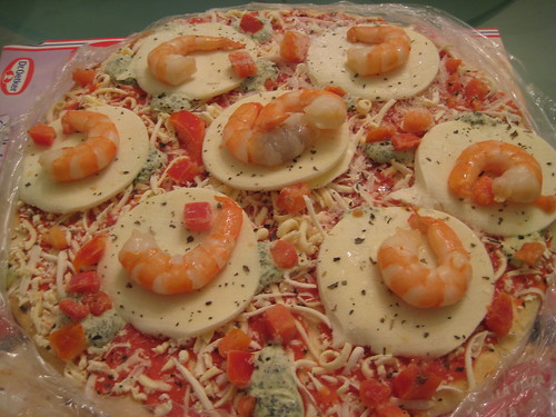 Shrimp on Pizza