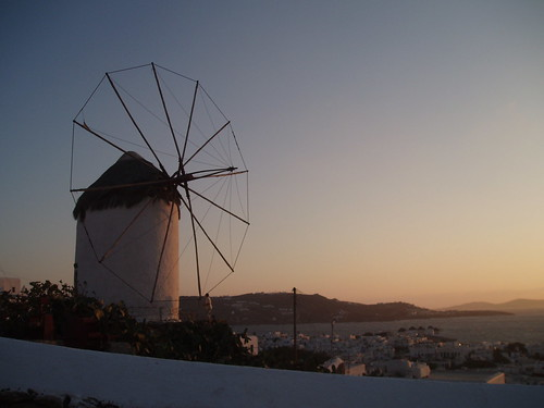 Windmill in Mykonos