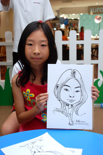 caricature live sketching for West Coast Plaza day 2 - 34