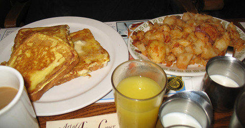 French Toast and a Side of Home Fries