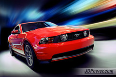 2010 Ford Mustang (JDPower.com Photography) Tags: auto show red ford sports car photoshop la power mustang powers gt jd coupe 2010 stang redcars jdpower jdpowerandassociates jdpowercom