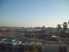 Bay Meadows 1 (relsqui) Tags: demolition commute
