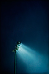 (mattrulez) Tags: lighting blue autumn light texture lamp night dark nikon pillar illumination column krakoff reflectyourworld geo:locality=blonia