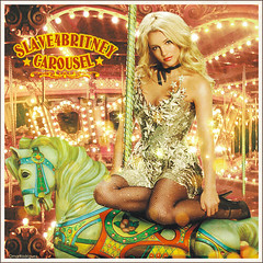 Britney Spears [Carousel Circus] ( Omar Rodriguez V.) Tags: show old horse art toxic colors beautiful fashion rock glitter work stars lights star princess spears circus madonna magic 4 carousel pop queen sparkle trouble fairy fantasy freak single fancy blackout academy omar britney radar rodriguez slave amnesia shatteredglass quicksand killthelights womanizer outfromunder slave4britney