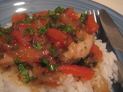 Sicilian Vinegar Chicken