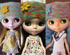 My girls' hat collection