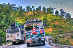 Going for Chitwan (T   J ) Tags: nepal color nature natur natura transportation kathmandu nikkor colori hdr chitwan natures d300 teeje