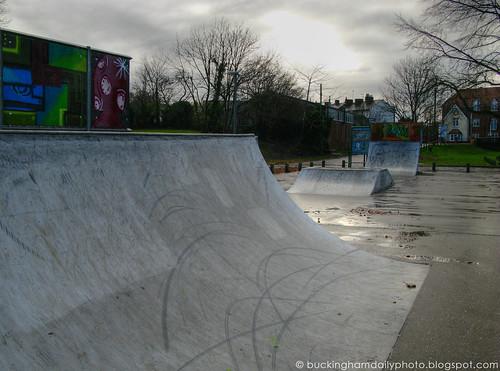 desolate skate park