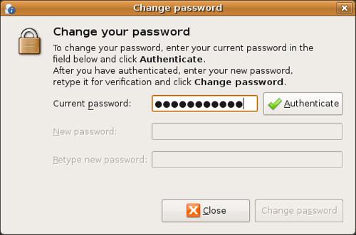Screenshot-Change password