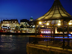 River (carlosjg75) Tags: urban london water thames night river noche agua