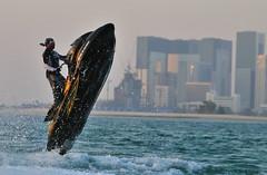 Qatar - قطر (Ashraf Khunduqji) Tags: water sport nikon qatar 70200mm d300 mywinners platinumphoto