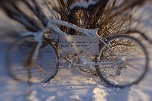 Ghost Bike Hunting