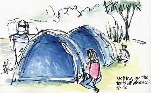 090102 Tent Set Up