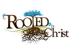 Logo - Rooted in Christ :: Women's Retreat (v.1) (bemky) Tags: brown tree logo roots retreat theme root brand rooted womensministry longviewchristianchurch bemkymedia
