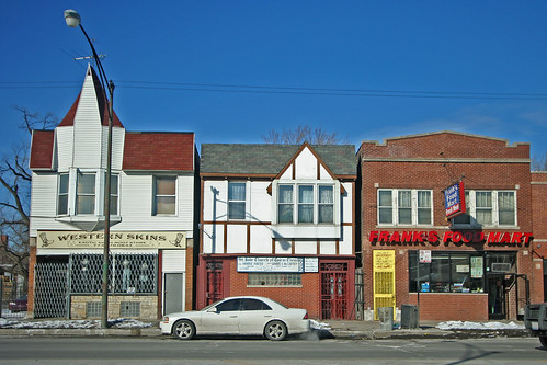 West side store fronts