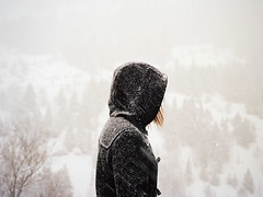 (Ana Cuba) Tags: winter portrait snow mountains nieve andorra v700 mamiyam645