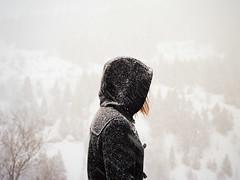 (Ana Cuba) Tags: winter portrait snow mountains nieve andorra v700 mamiyam645