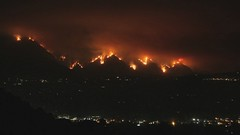 La Canada Fire Time-Lapse (anosmicovni) Tags: california wild fire timelapse los angeles southern lacanada stationfire